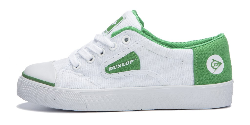 Modelo zapatilla Green Flash Dunlop Footwear España