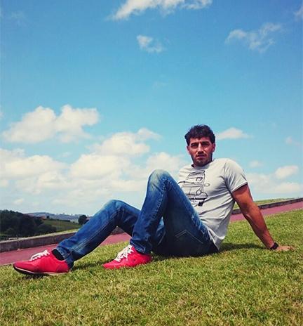 El oro del piragüismo, Carlos Pérez Rial, con sus zapatillas Dunlop Footwear.